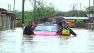 Heftige Überschwemmungen