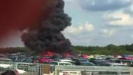 Vier Tote durch Absturz von Kleinflugzeug in England