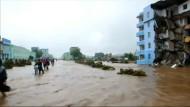 Viele Tote bei Überschwemmungen in Nordkorea