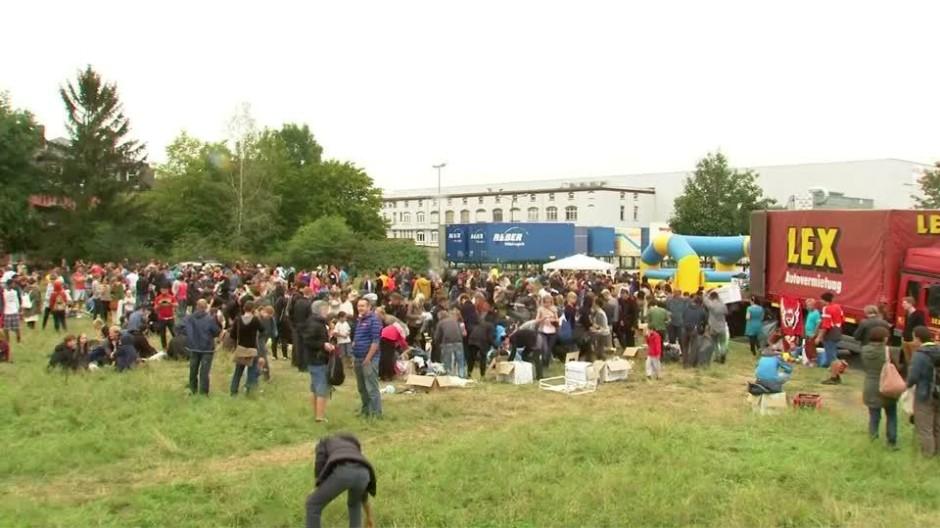Ein Fest für Flüchtlinge