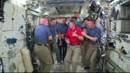Kommando-Wechsel auf der ISS