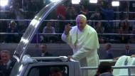 Papst begeistert New Yorker