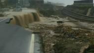 Schwere Überflutungen in Süditalien