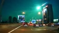 Meteorit über Bangkok
