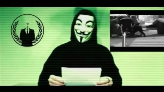 Drohvideo an den IS von Anonymous