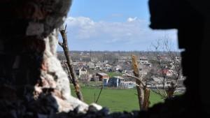 Kämpfe in Ostukraine wieder aufgeflammt