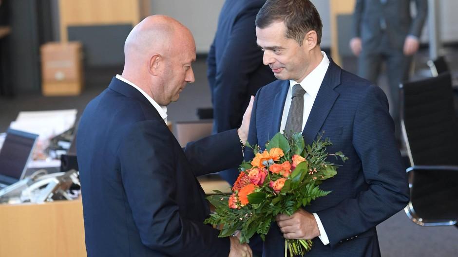 FDP-Fraktionschef Kemmerich ist neuer Ministerpräsident