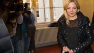 Annett Louisan trat als Zeugin im Prozess gegen ihren Erpresser auf.
