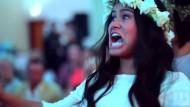 Haka bei Hochzeitsfeier