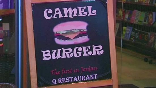 Hier gibt es Burger mit Kamelfleisch