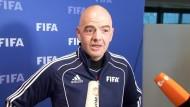 Fifa-Präsident Infantino lobt Hoeneß