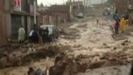 Schwere Überschwemmungen in Peru