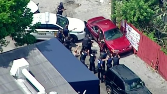 Miami: Ende einer Verfolgungsjagd