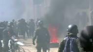Proteste von Milchbauern in Bolivien eskalieren