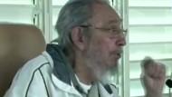 Fidel Castro zeigt sich bei seltenem öffentlichen Auftritt