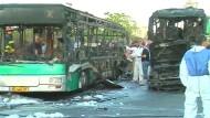 Mehrere Verletzte bei Bombenanschlag auf Bus in Jerusalem