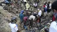 Tote beim Zusammenbruch einer Müllhalde in Guatemala