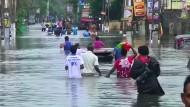Verheerende Überschwemmungen in Sri Lanka