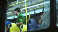 Attacke auf Bus mit Journalisten in Rio