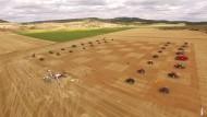 Bauernschach mit Landmaschinen