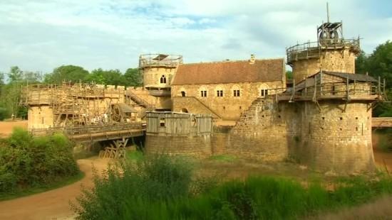 Burgenbau wie im Mittelalter