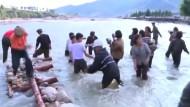 Nordkorea leidet unter schweren Überschwemmungen