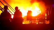 Großbrand in Oklahoma