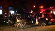 Auto von Oppositionspolitiker in Georgien explodiert