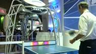 Ein Roboter als Tischtennis-Trainer
