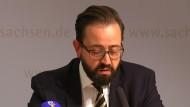 Sächsischer Justizminister: Das hätte nicht passieren dürfen