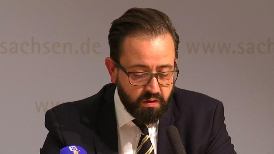"""Sächsischer Justizminister: """"Das hätte nicht passieren dürfen"""""""