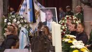 Trauer um von Reichsbürger erschossenen Polizisten