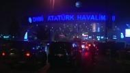 Schüsse am Flughafen Istanbul