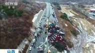 Massenkarambolage in China