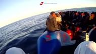 Mehr als 1000 Bootsflüchtlinge in zwei Tagen gerettet