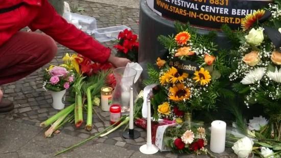 Trauer um Opfer vom Berliner Weihnachtsmarkt