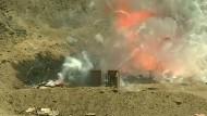 Peruanische Polizei sprengt beschlagnahmte Feuerwerkskörper