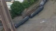 Güterzug mit flüssigem Gas in Kalifornien entgleist