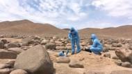 Forscher hoffen in Atacama-Wüste auf Antworten