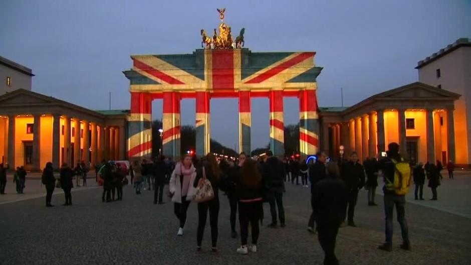Brandenburger Tor Letztes Mal Anstrahlen
