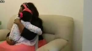 Vierjährige Tochter findet ihre Mutter wieder