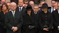 Schweigeminute für die Opfer von Stockholm
