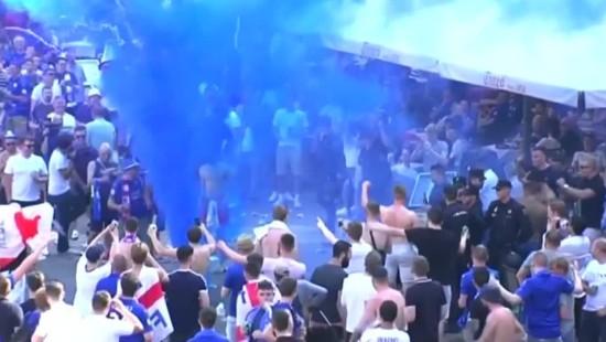 Leicester-Fans prügeln sich in Madrid