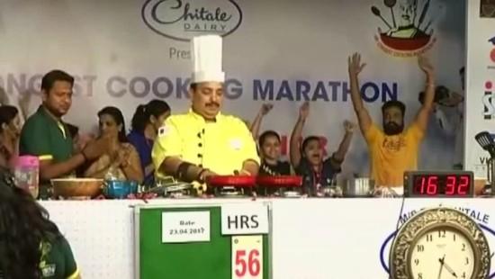 Inder kocht in 53 Stunden 750 Gerichte