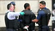 Festnahme im Londoner Regierungsviertel