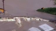 Überflutungen im Mittleren Westen Amerikas