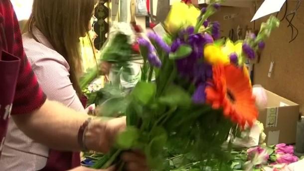 Muttertag ist Blumentag