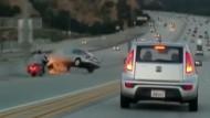Wie ein Fußtritt zum Unfall führen kann