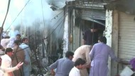 Dutzende Tote bei Anschlägen in Pakistan