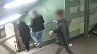Fast drei Jahre Haft für Tritt in der Berliner U-Bahn